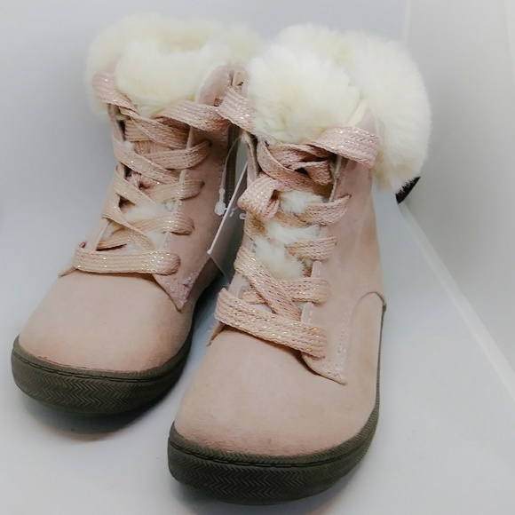 37b286f64 NEW Toddler Girls Annis Ankle Boots Pink Size 6 NWT